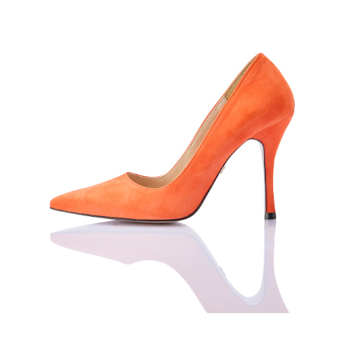 브리아나 Briana Briana Stiletto_Orange Suede