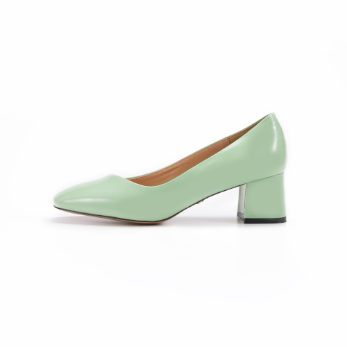 브리아나 Briana Oblique Pumps_Mint Patent