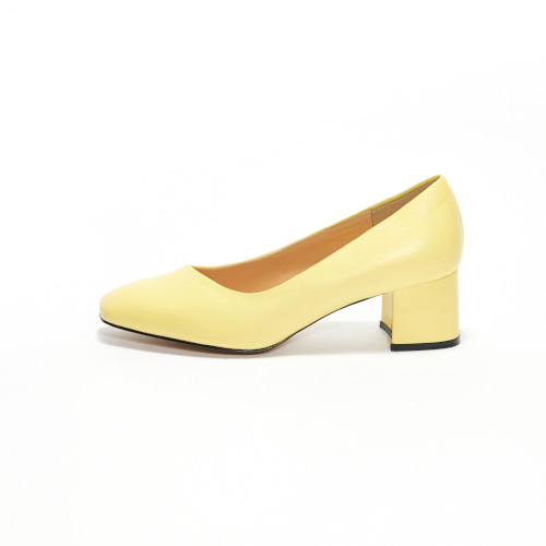 브리아나 Briana Oblique Pumps_Lemon