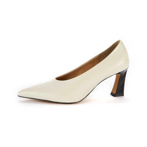 브리아나 Briana Cat pumps_Cream