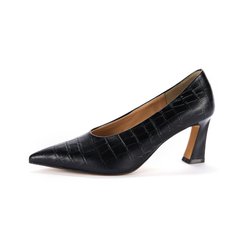 브리아나 Briana Cat pumps_Black Wani