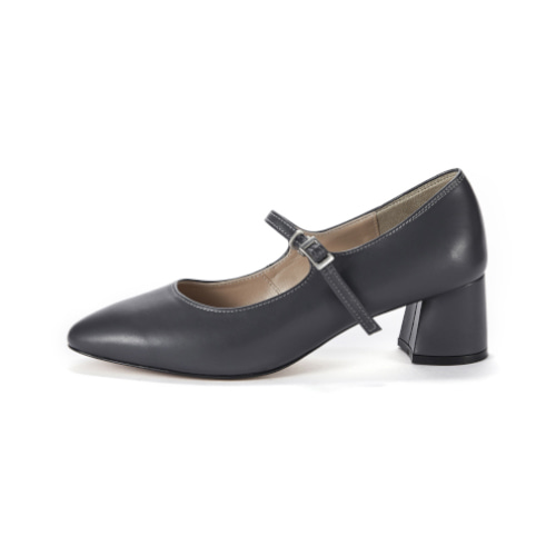 브리아나 Briana Mary Jane Pumps_Dark Gray