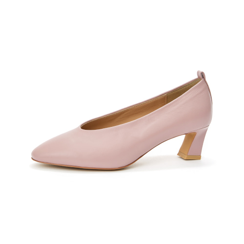 브리아나 Briana Round-toe Pumps_Pink [10% OFF]