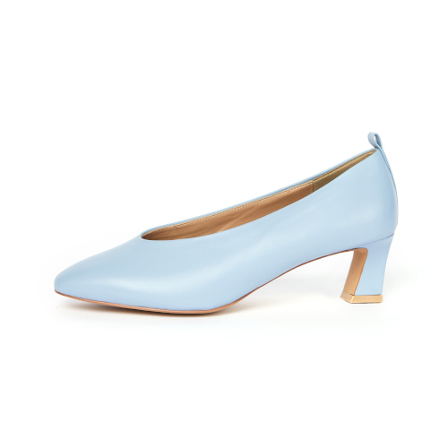 브리아나 Briana Round-toe Pumps_Sky Blue [10% OFF]