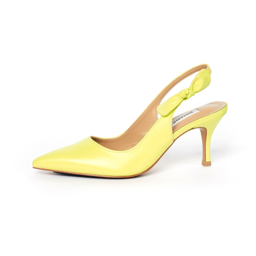 브리아나 Briana Ribbon Slingback_Lemon