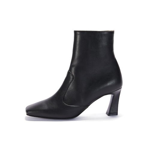 브리아나 Briana Block Ankle Boots_Black