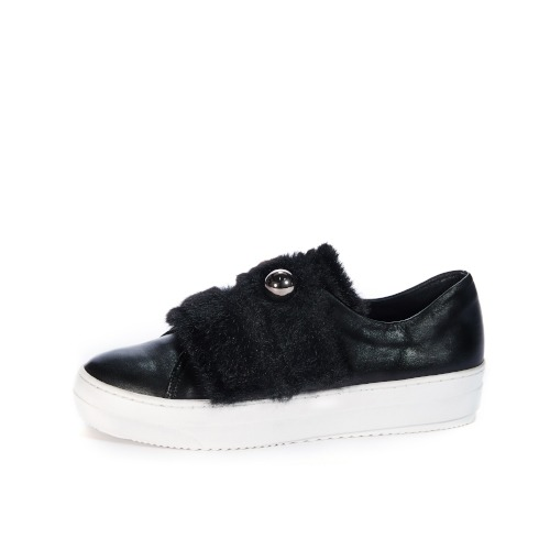 브리아나 Briana Eyeball Sneakers_Black